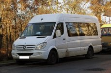Микроавтобус Mercedes-Benz Sprinter WB